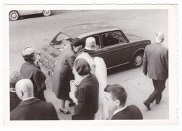 """AUTO - CAR - VOITURE -  """" FIAT 850 """" - FOTO ORIGINALE 1965 - Targa TORINO - Automobiles"""