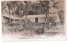 CPA NOUVELLES HEBRIDES RUE DU COMMERCE A VILA EN 1903 RARE BELLE CARTE !! - Vanuatu