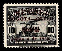"1930 Ecuador ""Air Post"" $10.00 Sucres - Ecuador"