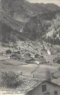 74 VALLORCINE VILLAGE DE BARBERINE ET LES CASCADES  VALLÉE DE CHAMONIX MONT BLANC Editeur BURGY 4950 - Autres Communes