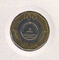 Cape Verde. 100 Escudos. Bird. Bimetal. Lark. UNC. 1994 - Cap Vert