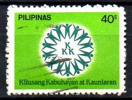 PHILIPPINES. N°1381 Oblitéré De 1982. Mouvement De Solidarité Nationale. - Philippines