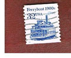 STATI UNITI (U.S.A.) - SG 2481 - 1995  TRASPORT: FERRYBOAT    - USED - Used Stamps