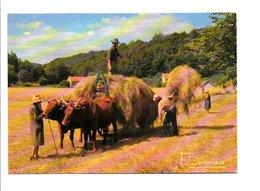 METIERS - AGRICULTURE - LES FOINS - Cultures