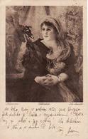 Vlaho Bukovac Schonheit - Krasavice, Kroatischer Maler 1855-1922, Used 1920 - Peintures & Tableaux