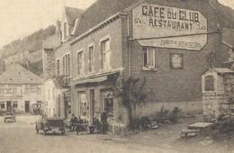 +++ CPA - REMOUCHAMPS - Polet Leduc - Publicité Café Du Club - Restaurant - Terrasse Animée   // - Aywaille