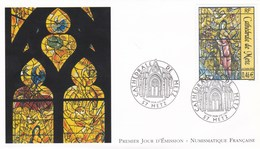 France FDC 2002 Cathédrale De Metz - FDC
