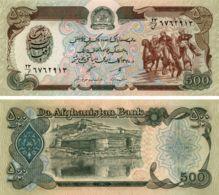Afghanistan. Banknote. 500 Afghani. UNC - Afghanistan