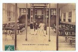Colonie De METTRAY : La Grande Classe - école - édition IPM Paris Voyagée En 1908 - France