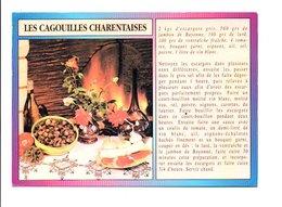 RECETTE - LES CAGOUILLES CHARENTAISES - Recettes (cuisine)