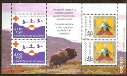 Groenland Greenland 1993 Yvertn° Bloc 4 *** MNH  Cote 24,00 Euro Croix Rouge Rode Kruis - Blocs