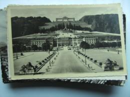 Oostenrijk Österreich Wien Wenen Schönbrunn Totalansicht - Schloss Schönbrunn
