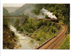 TRAIN - CHEMIN DE FER DU VIVARAIS - TOURNON-LAMASTRE - Trains