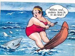 CPSM - Thèmes - Illustrateurs - Humour - Willem Snel, Anders Kom Ik... - Illustrateurs & Photographes