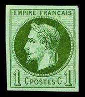 (*) N°25d, 1c Bronze, Réimpression Granet, SUP (certificat)  Qualité: (*)  Cote: 1450 Euros - 1863-1870 Napoleon III With Laurels