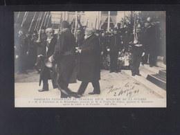 France CP Obseques Du General Brun President De La Republique, Le Prefet De Police 1911 - Personnages