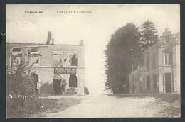 +++ CPA - THIMISTER - Les Quatre Chemins - Café    // - Thimister-Clermont