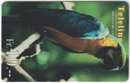 SWITZERLAND C-479 Prepaid Teleline - Animal, Bird, Parrot - Used - Suisse