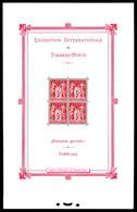 ** N°1, Exposition Philatélique De Paris 1925, FRAICHEUR POSTALE, SUPERBE. R. (certificat)  Qualité: **  Cote: 5500 Euro - Mint/Hinged