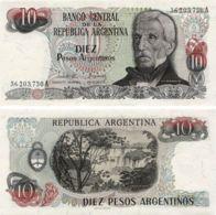 Argentina. Banknote10 Pesos. 1983-1984. UNC. P313 - Argentine