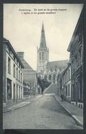 +++ CPA - ALSEMBERG - L'Eglise Et Les Grands Escaliers - De Kerk En De Groote Trappen  // - Beersel