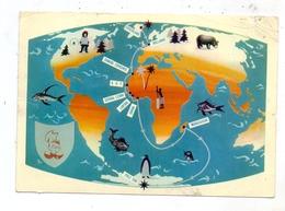 GRÖNLAND / GREENLAND - Map / Landkarte, 1957, Einriss - Grönland