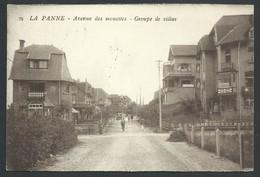 +++ CPA - DE PANNE - Avenue Des Mouettes - Groupe De Villas    // - De Panne
