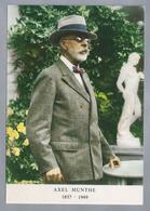 """SE.- AXEL MUNTHE 1857 - 1949. Axel Martin Fredrik """"Puck"""" Munthe Was Een Zweeds Arts En Schrijver. Ongelopen. - Schrijvers"""