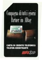 Italia - Tessera Telefonica Da 2.000 Lire N. 20 - Compagna Di Tutti I Giorni/Bilingue - Italië