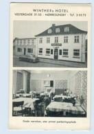 L602/ Nörresundby  Winther`s Hotel Dänemark AK Ca.1955-60 - Dänemark