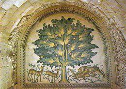 1 AK Palästina - Palestine * Bodenmosaik Im Hisham Palast Bei Jericho * - Palästina