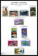 * 1958/1966, Poste-PA-Taxe, Collection Complète. TB  Qualité: *  Cote: 1042 Euros - Collections, Lots & Séries