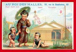 Au Roi Des Halles, Jolie Chromo Lith. Alfred Clarey, Exposition Universelle 1878 Japon - Autres