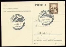 P0794 - DR Postkarte: Gebraucht Mit Sport Skispringen Sonderstempel Spindelmühle Riesengebirge 1941 - Allemagne