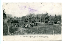Kemmel - Grand'Place Avec Kiosque Permanent - Grand'Place With Permanent Band-stand / E. Le Deley - Heuvelland