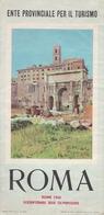 ROMA 1960 Dépliant édité à L'occasion Des Jeux Olympiques - Dépliants Touristiques