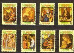 Kerstmis Noel 1974 Grenada Yvertnr. 541-48 *** MNH - Grenade (1974-...)