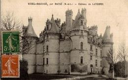 CPA Viel-Baugé Château De Landifer - Châteaux