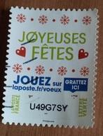 Timbre à Gratter (Joyeuse Fêtes) - France - 2018 - France