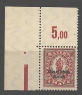 D.R.129,Ecke,xx, (108) - Ongebruikt