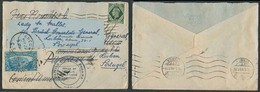 USA-CANAL ZONE. 1945. GB - Canal Zone - Portugal. Mixed Fkd Usage / Fwded / British Embassy. VF. - United States