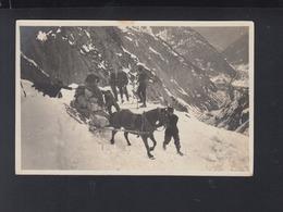 Schweiz AK Feldpost Bat. 70 Transport Im Gebirge - Matériel