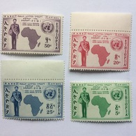 ETHIOPIA 1958 U.N. Economic Conference For Africa Set MNH - Ethiopia