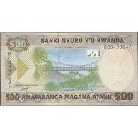 TWN - RWANDA NEW - 500 Francs 1.2.2019 Prefix BC UNC - Ruanda