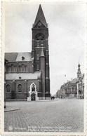 Wevelgem NA6: De Kerk En Gedenksteen Van Het H. Hert - Wevelgem