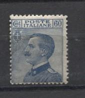 REGNO 1923  60 C. NUOVO GOMMA ORIGINALE - 1900-44 Victor Emmanuel III