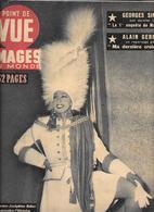 POINT DE VUE - IMAGES DU MONDE - N° 39 -3/3/1949 -JOSEPHINE BAKER - G.SIMENON - ALAIN GERBAULT -POLYNESIENNE SEINS NUS - People