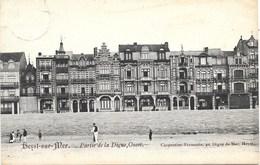 Heyst-Sur-Mer NA54: Partie De La Digue, Ouest 1908 - Heist