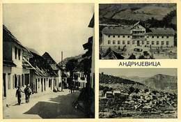 Gd Format:environ15cms X10cms -ref Y387- Montenegro - Andrijevica - Carte Bon Etat - - Montenegro