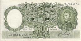 ARGENTINE 50 PESOS ND1955-68 XF P 271 - Argentine